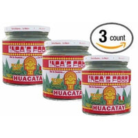 Inca's Food Huacatay Paste - Black Mint - 7.5 Oz - (3-Pack)