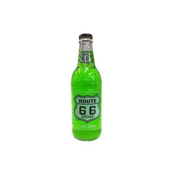 Route 66 Soda - Lime - (12 Pack)