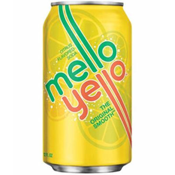 Mello Yello Soda, 12 Oz Can (Pack of 24)