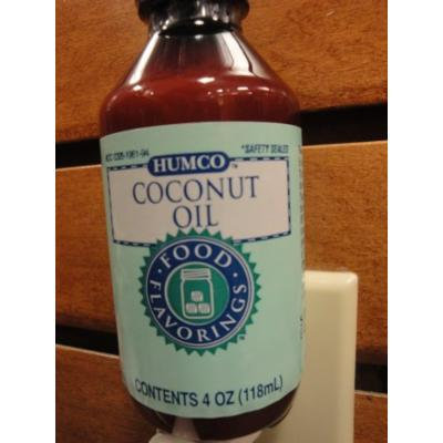 HUMCO COCONUT OIL (4oz)