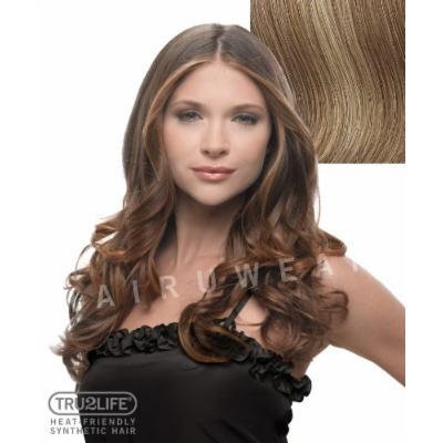 Tru2Life Styleable Extensions - 23 Inch Wavy Clip In Extension - R14/25-Honey Ginger/Dark Golden Blonde