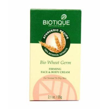 Biotique Firming Face & Body Cream - Wheat Germ 55g
