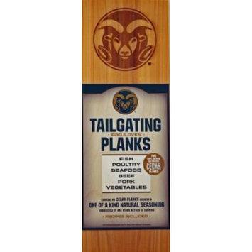 Chef Locke Colorado State University TailGating BBQ Plank