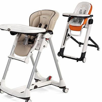 Peg-Perego Prima Pappa Best High Chair w Peg Perego Baby Cushion White (Cappuccino)
