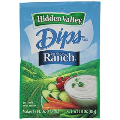 Hidden Valley the Original Ranch Dip Mix, 1 Ounce Packet (Pack of 3)