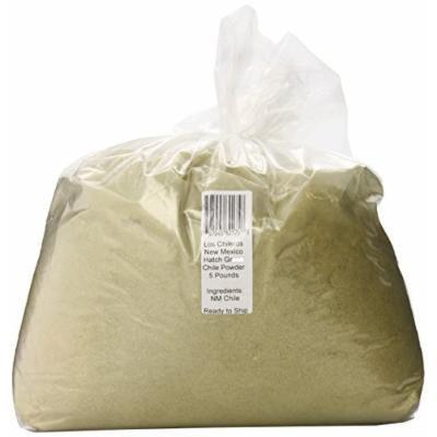 Los Chileros New Mexico Hatch Green Chile, Powder, 5 Pound