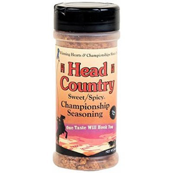 Head Country Championship Sweet/Spicy Seasoning, 6 Ounce