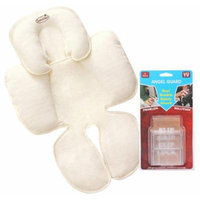 Angel Guard Seat Buckle Safety Guard 2 Pack with Snuzzler Head & Body Support