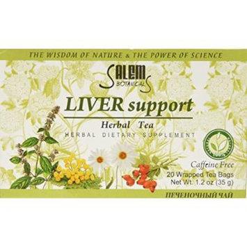 Salem Botanicals Herbal Tea, Liver Support, 20 Count