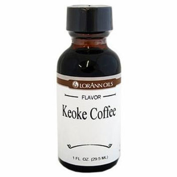 LorAnn Oils Flavorings and Essential Oils, Coffee and Keoke, 1 Ounce (Pack of 6)