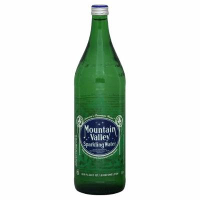 Mountain Valley Spring Spring Sparkling Water, 33.8100-ounces (Pack of12)