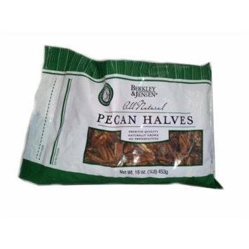Berkley and Jensen All Natural Pecan Halves in Resealable 1 lb. Bag