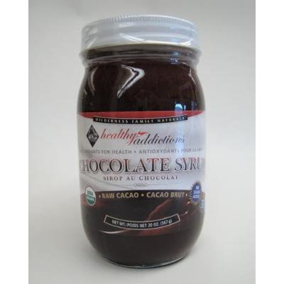 Chocolate Syrup, Certified Organic, Raw, Net Wt. 20 oz.