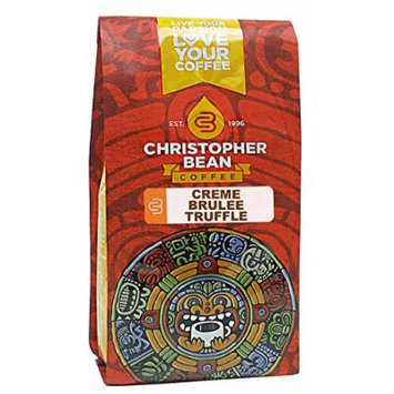 Crème Brulee Truffle, Flavored Whole Bean Coffee, 12-Ounce Bag
