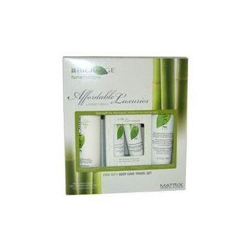 Biolage Fortetherapie Limited-Edition Kit by Matrix for Unisex - 4 Pc Kit 10oz Strengthening Shampoo, 5.1oz Strengthening Conditioner, 1oz Nourishing Hand Cream, 1oz Nourishing Body Wash