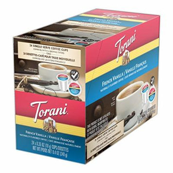 Torani Coffees, French Vanilla, 24 Count