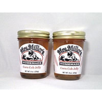 Mrs. Miller's Amish Homemade Corn Cob Jelly 8 Oz. - Pack of 2 (Boxed)