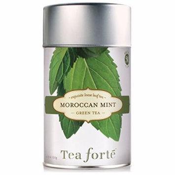 Tea Forte MOROCCAN MINT Loose Leaf Green Tea, 4.23 Ounce Tea Tin