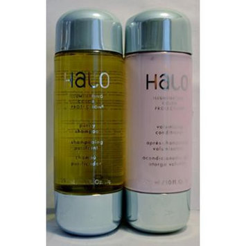 Halo Illuminating Color Protection Purity Shampoo and Volumizing Conditioner Set 10oz Each (2 Pack)