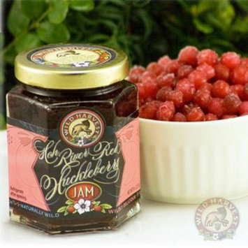 Wild Red Huckleberry Jam (3- 8oz Jars)