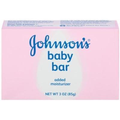 Johnson's Baby Bath Bar, 3 Ounce (Pack of 6)