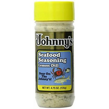Johnny's Lemon Dill Seasoning, 4.75 Ounce (Pack of 3)