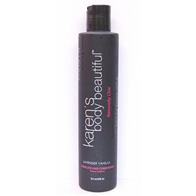 Karen's Body Beautiful Lavender Vanilla Complete Hair Conditioner 8.5 Oz.