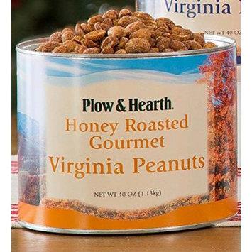 Extra Large Virginia Peanuts, 40 oz tin, in Honey Roasted