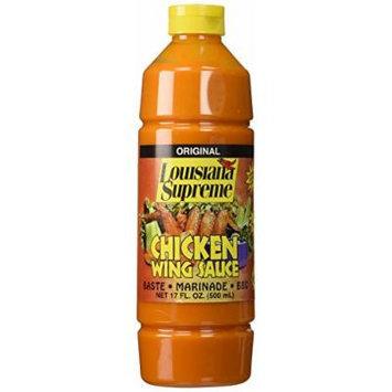 Louisiana Supreme Original Chicken Wing Sauce Baste Marinade Bbq 17 Oz. (1 Each)