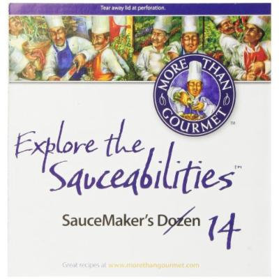 More Than Gourmet SauceMakers Dozen - SauceGuys Favorites, 21 Ounce