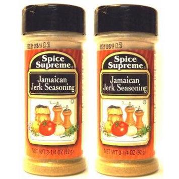 Spice Supreme Jamaican Jerk Seasoning (3.25 oz Bottles) 2 Pack
