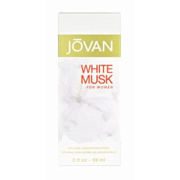 Jovan White Musk By Coty Concentrate Cologne Spray, 2-Ounce