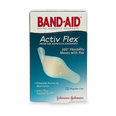 Band-Aid Activ-Flex Premium Adhesive Bandages, Regular 10 ea
