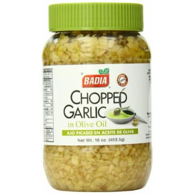 Badia Chopped Garlic in Olive Oil, 16 Ounce (Pack of 12)