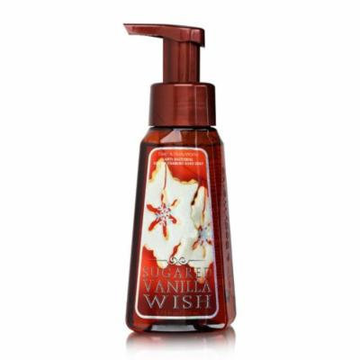 Bath Body Works Sugared Vanilla Wish 8.75 oz Anti-Bacterial Gentle Foaming Hand Soap