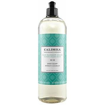 Caldrea Pear Blossom Agave Dish Soap, 16 Fluid Ounce