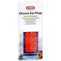 Leader Silicone Ear Plugs Kids, 12 CT (2 PACK) - Compare to Flents