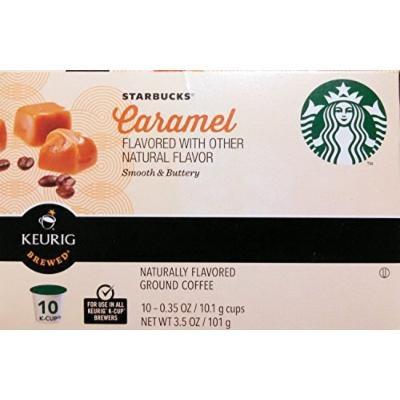 Starbucks Caramel Coffee K-Cup for Keurig Brewers 10 Count