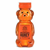 Nature Nate's 100% Pure, Raw and Unfiltered Honey, 12 Ounce