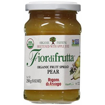 Rigoni di Asiago Fiordifrutta Organic Fruit Spread Pear, 8.82 Ounce