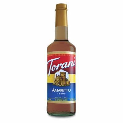 Torani Amaretto Syrup (1 Single 750 ml bottle)