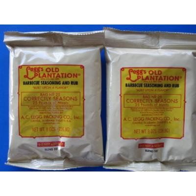 ***TWO PACKS*** SWEET ITALIAN seasoning for 50 lbs of meat from AC Legg Old Plantation. FAVORITE RECIPE.