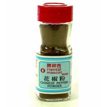 Oriental Mascot - Chinese Pepper Powder 1.0 Oz / 29 g (Pack of 1)