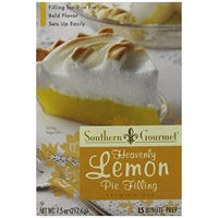 Southern Gourmet Pie Filling, Lemon, 7.5 Ounce