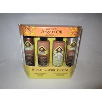 One 'N Only Argan Oil Hydrate Sparkle Shine Set - 4 piece
