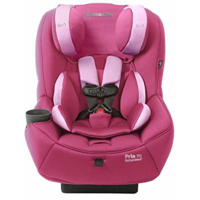 Maxi-Cosi Pria 70 Convertible Car Seat with Easy Clean Fabric and BONUS 20 Ounce Flavor Infusing Water Bottle, Sweet Cerise