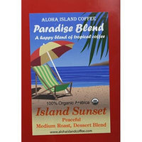 Aloha Island Coffee, Organic Island Sunset Medium Roast, Soft Coffee Pods for Senseo and All Soft Pod Coffee Brewers, 18 Pods, Reusable Adapter for Brewing