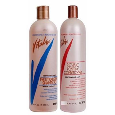Vitale Double Bundle (Neutralizing Shampoo and Revive Positive Conditioner)