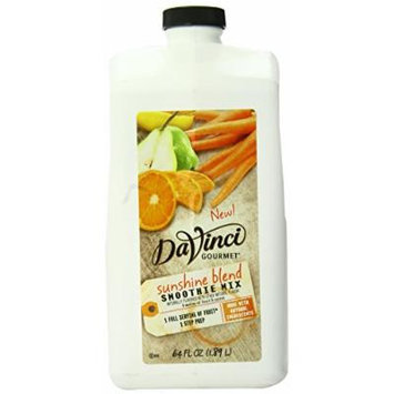 DaVinci Natural Fruit Smoothies Sunshine Blend, 64 Ounce