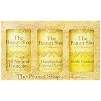 The Peanut Shop of Williamsburg 3 Piece Everyday Gift Set (Virginia Peanuts, Cashews, Pistachio)